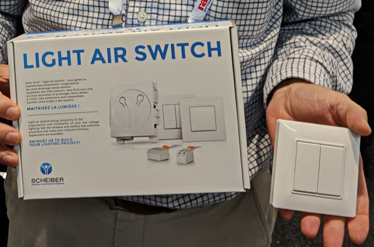 The cheiber Light Air Switch Kit.