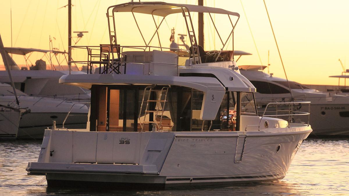 The Beneteau Swift Trawler 35.