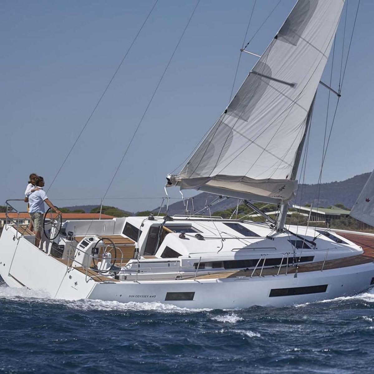 The Jeanneau Sun Odyssey 440