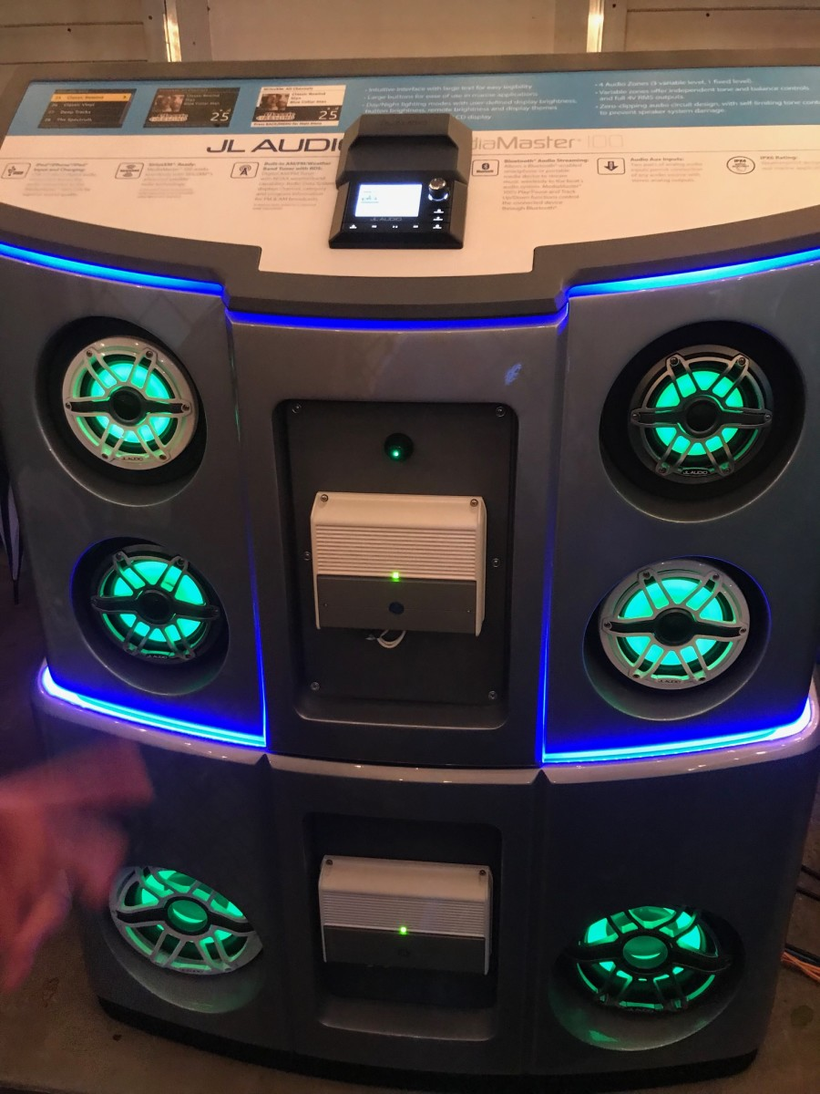 M6 high-preformance Marine Loudspeakers