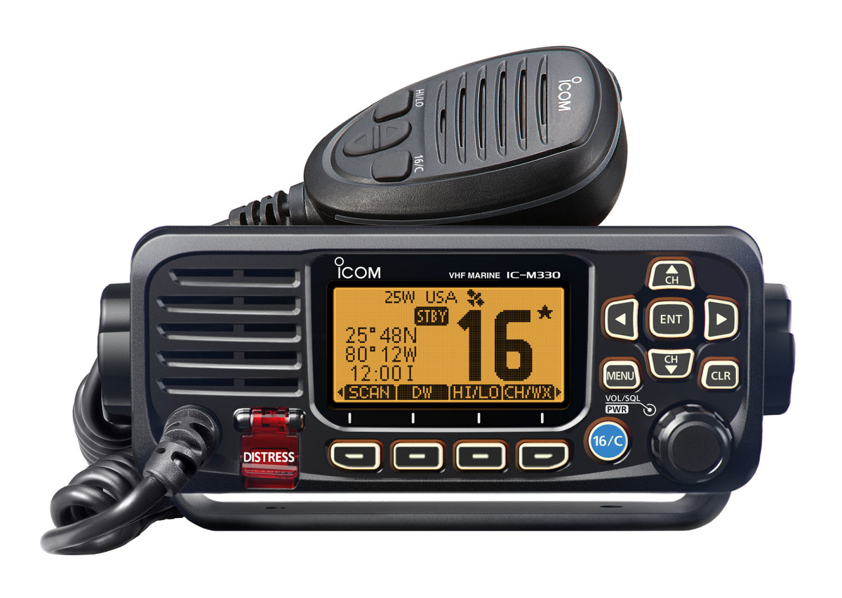 A VHF is a must have.