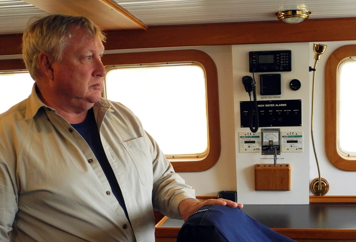 At 68, Timothy Coffey says he may have finally found a boat he'll stick with.
