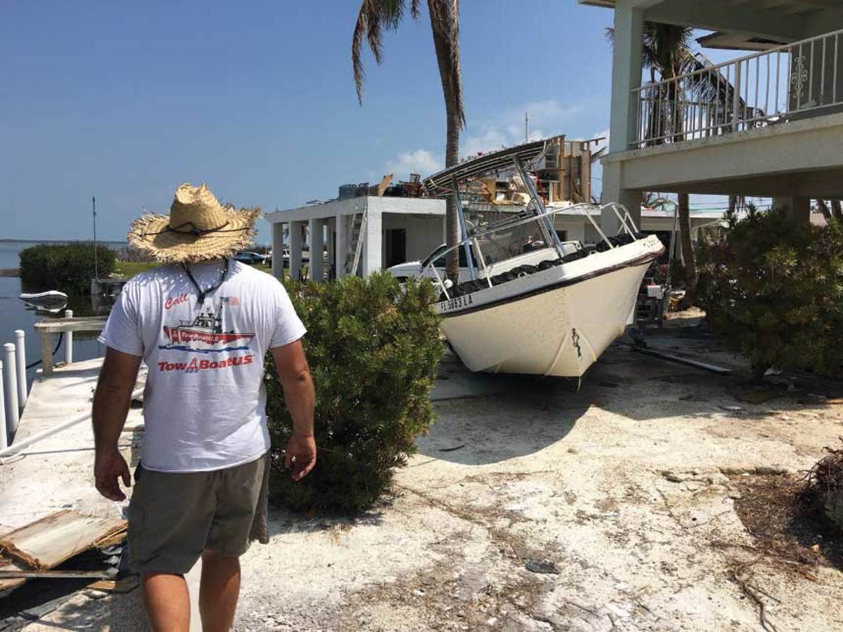 Many storm-ravaged boats end up in the dumpster.