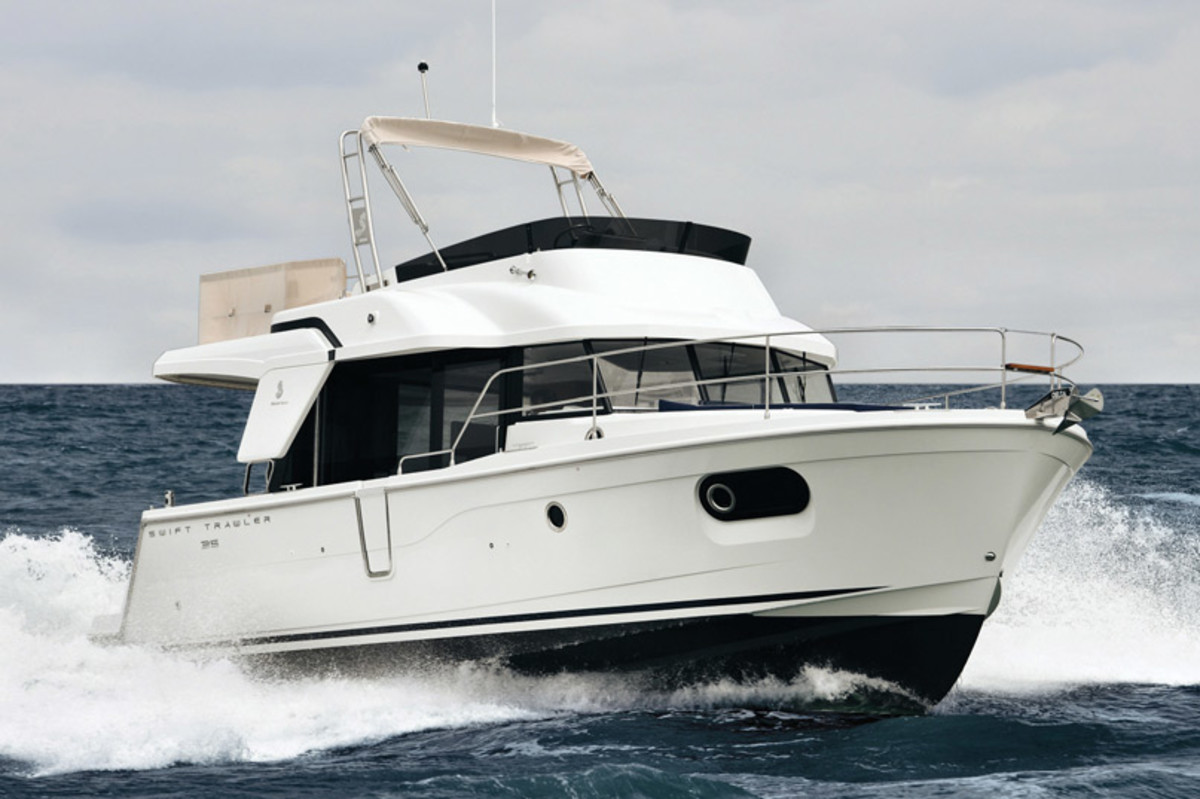 Beneteau Swift Trawler 35. Denison Yacht Sales will also be displaying a Beneteau Swift Trawler 44.