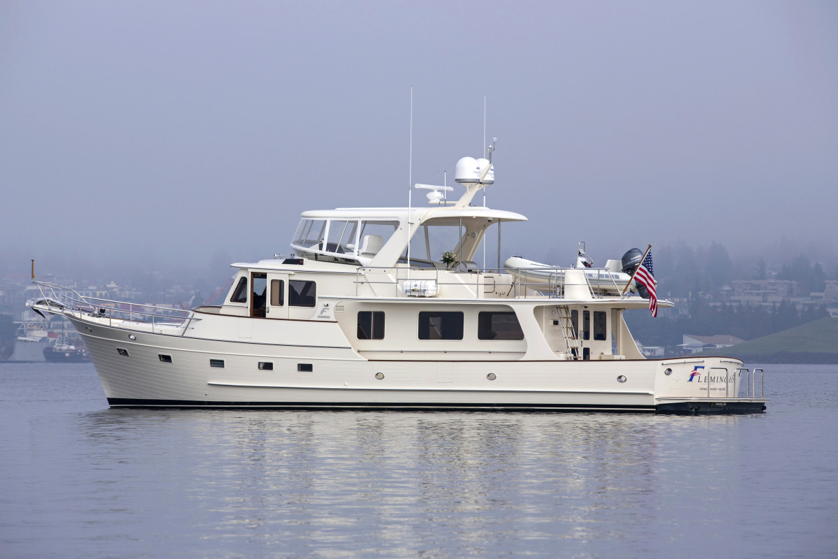 Fleming 65 presented by Chuck Hovey Yacht Sales.