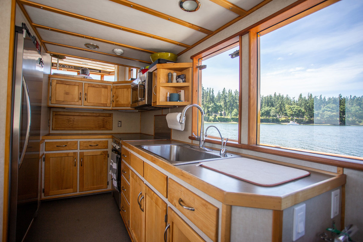 The modernized galley