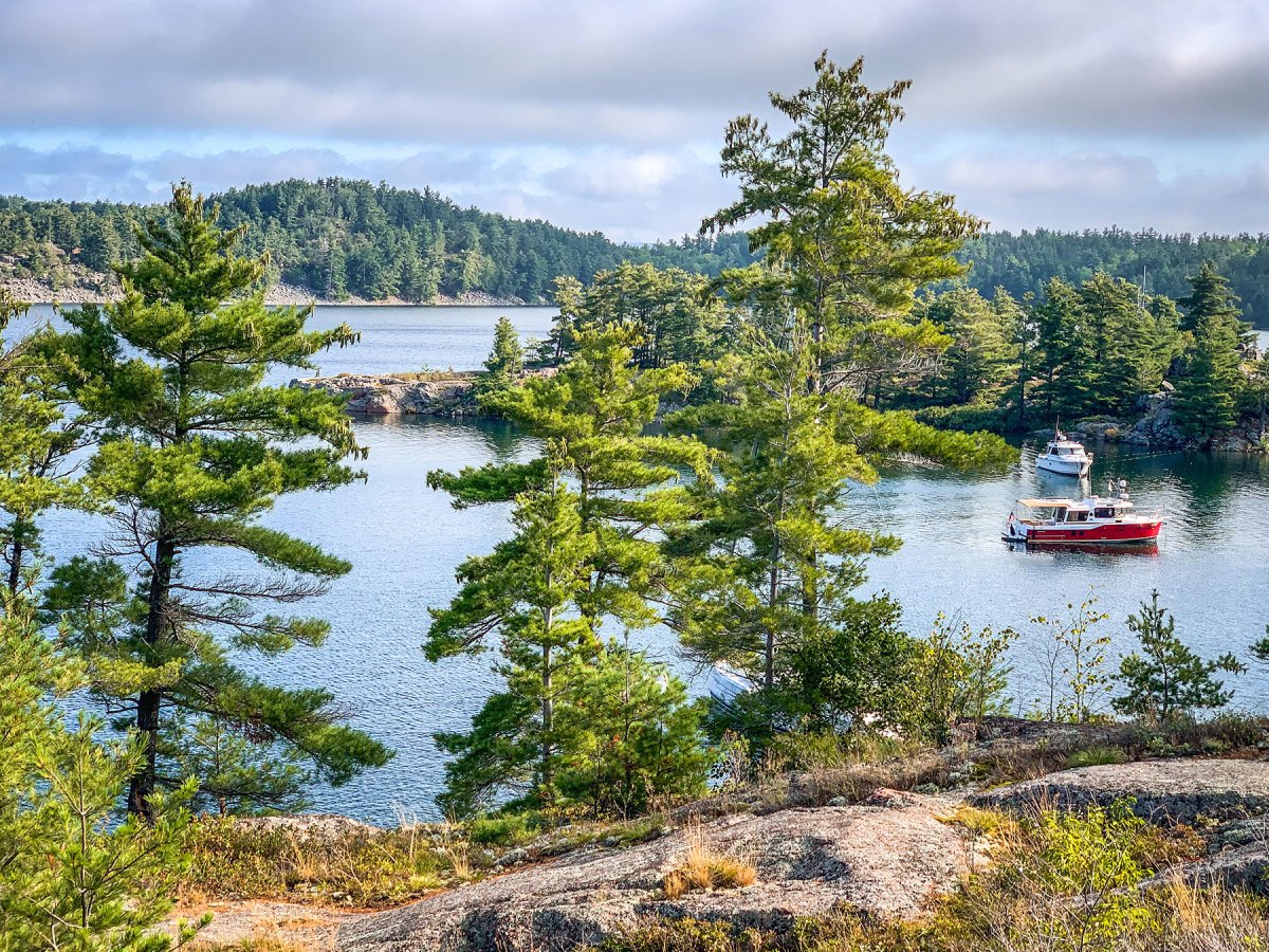 Canada's Croker Island, a family favorite, is a mere half-day trip trailering from the Favors' Michigan home.