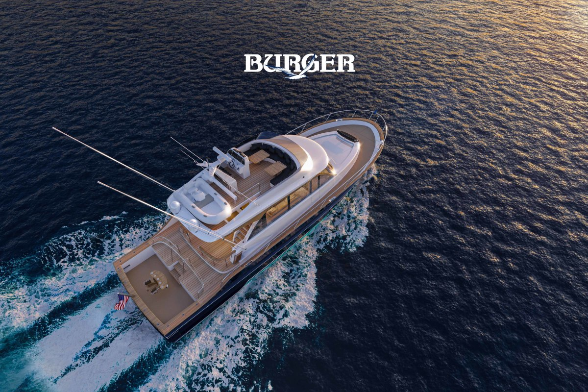 The Burger 63 Sportfishing Motor Yacht is another way Burger is giving yachting enthusiasts control of a specific dream.