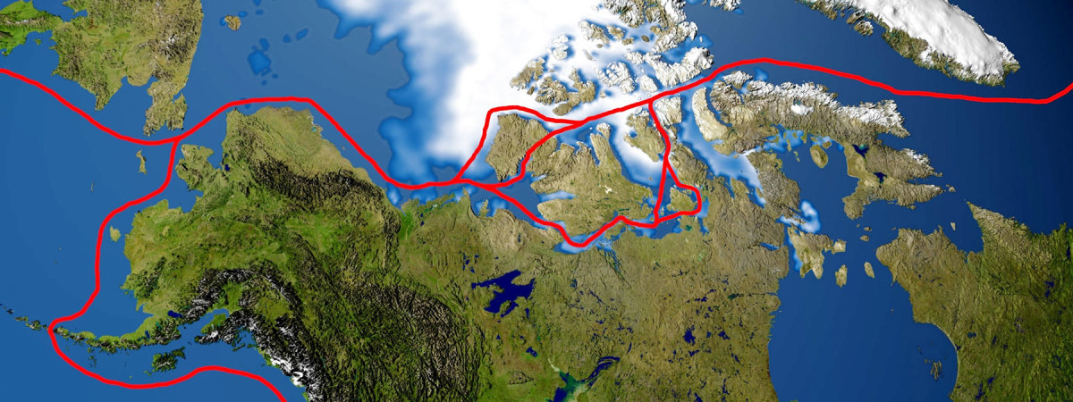 During their multi-year exploration of some of the Northwest Passage routes, the authors stopped at more than 100 anchorages.