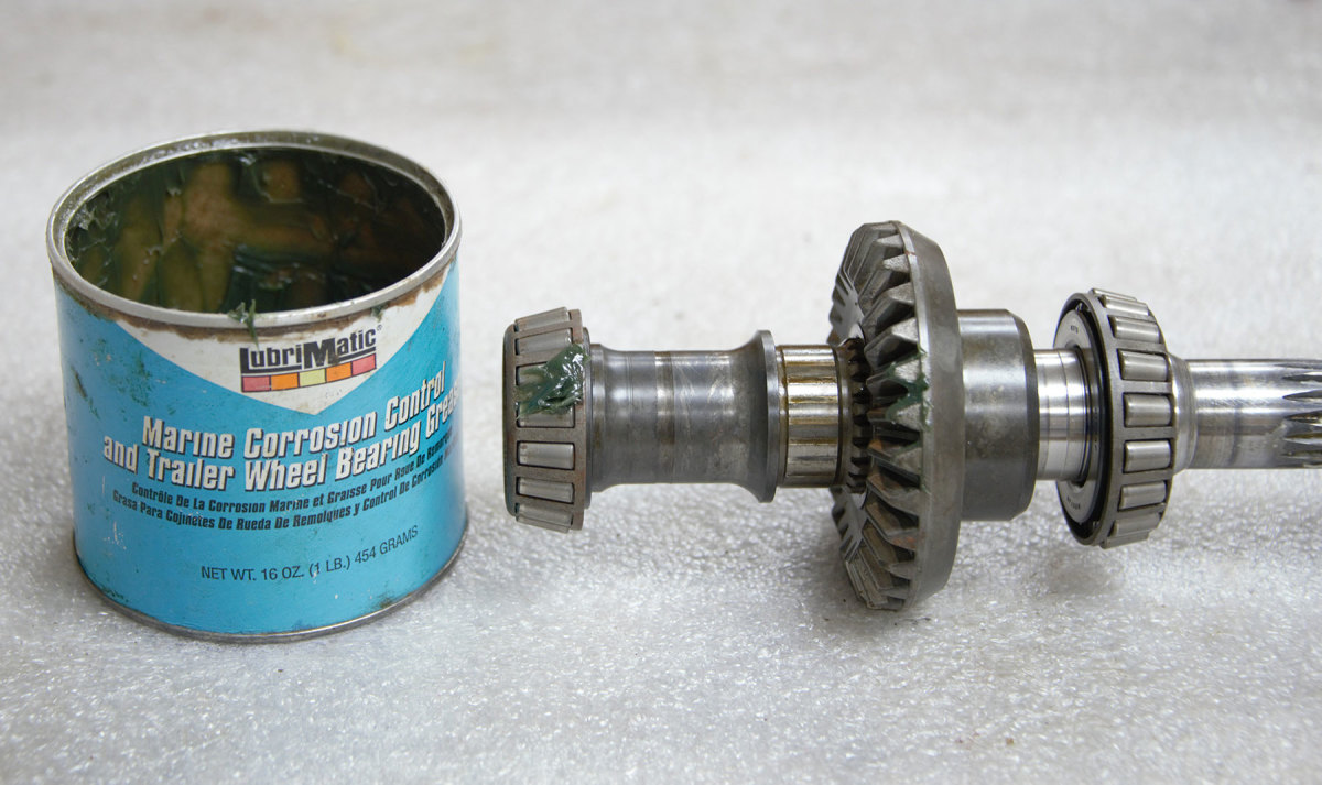 Wheel-bearing grease tops the list when applied in areas exposed to seawater, such as cone-style seacocks, water pump axles and windlass components.