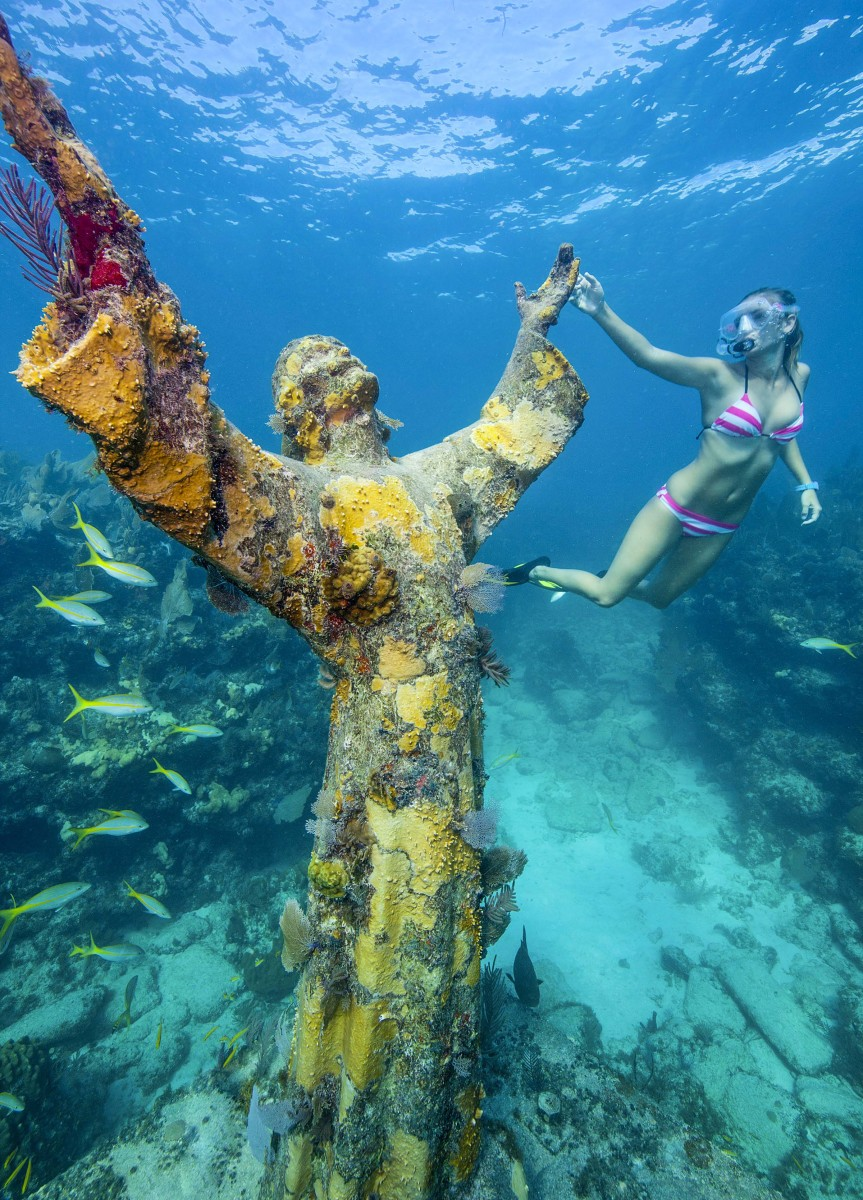 Whether your preferences run toward snorkeling a coral reef with Christ of the Abyss as your companion, exploring the myriad islands dotting the Seven Mile Bridge, sportfishing for big gamefish, or doing a pub crawl along Duval Street in the footsteps of Hemingway, the Florida Keys are an endless playground.