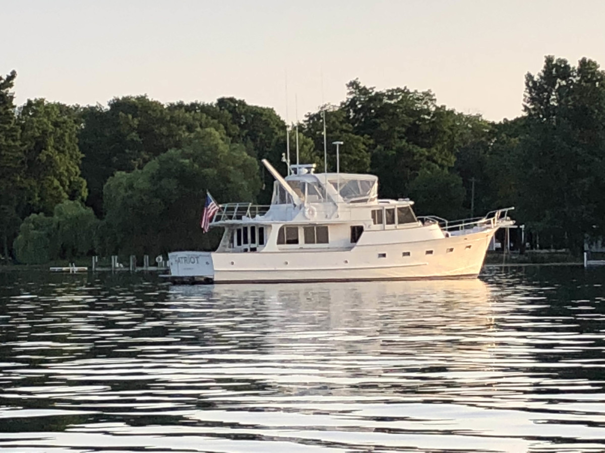 "Steve Murdock's Fleming 55 Pilothouse ""Patriot"""