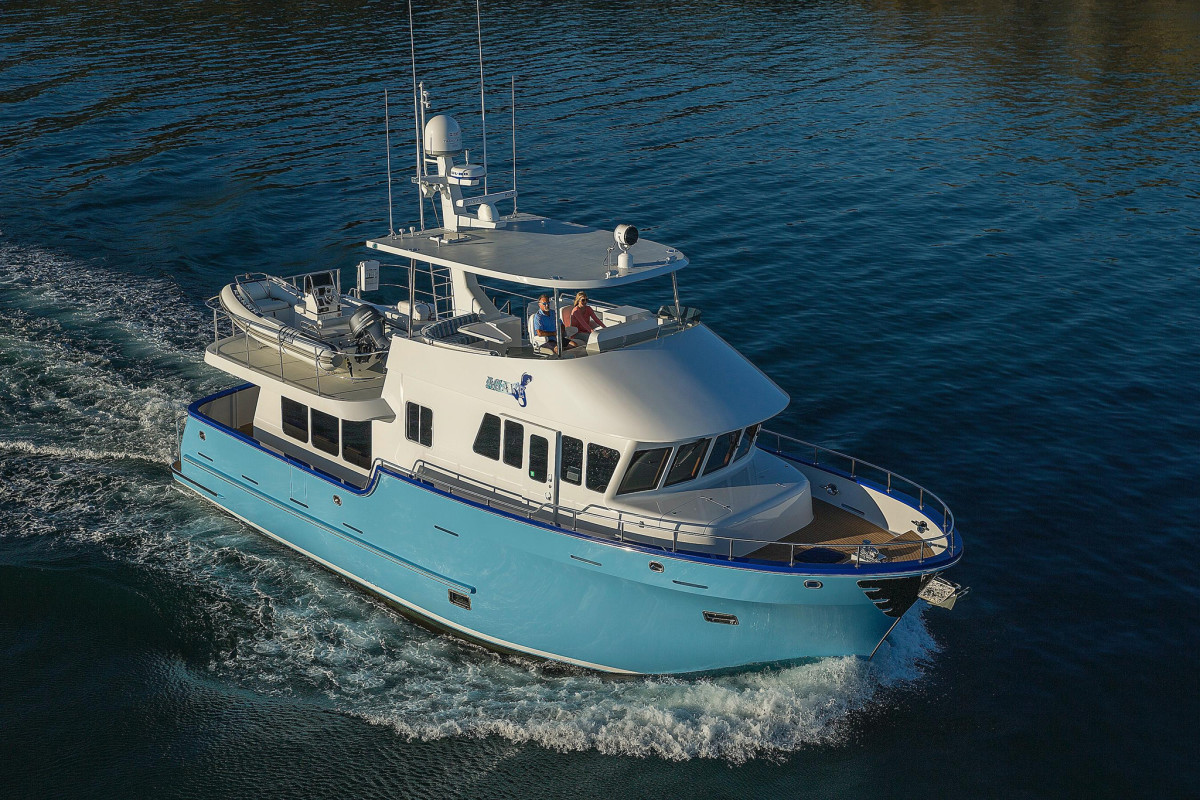 Sistership of the new Northern Marine 57