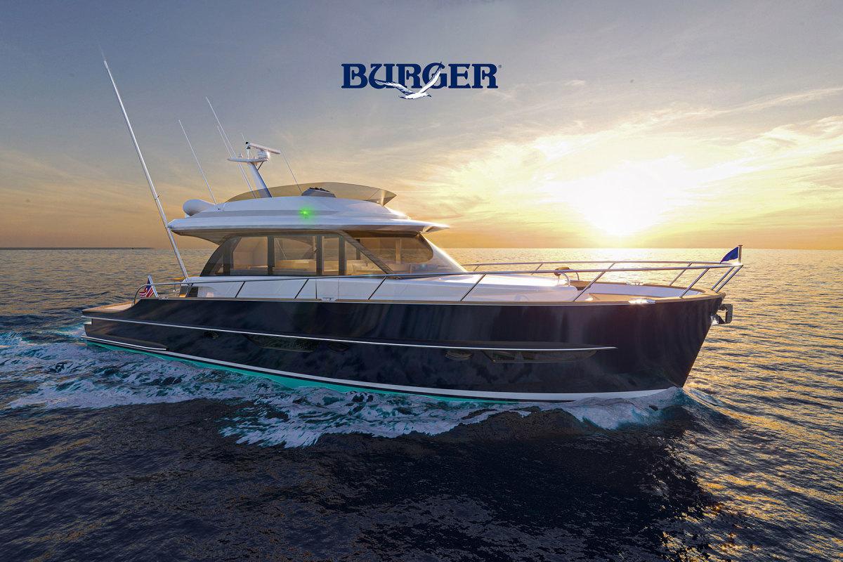 Burger 63 Sportfishing Motor Yacht