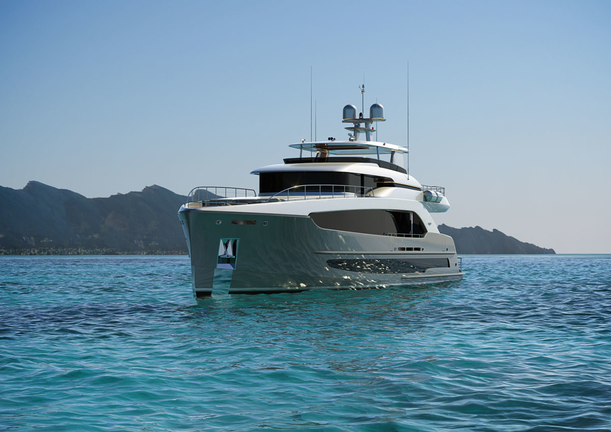 Burger 120 Raised Pilothouse Motor Yacht