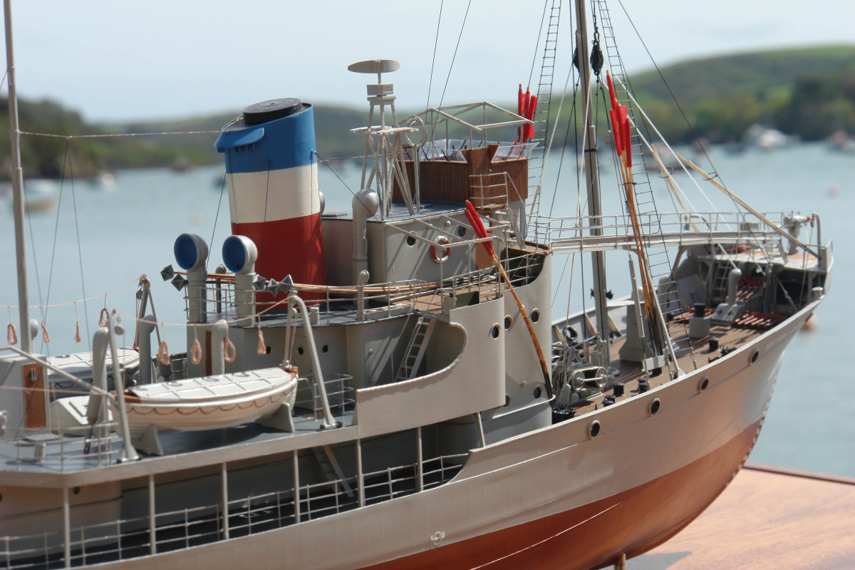 The South Atlantic whale catcher Southern Joker was built for a client who served time as her engineer in the 1950s.