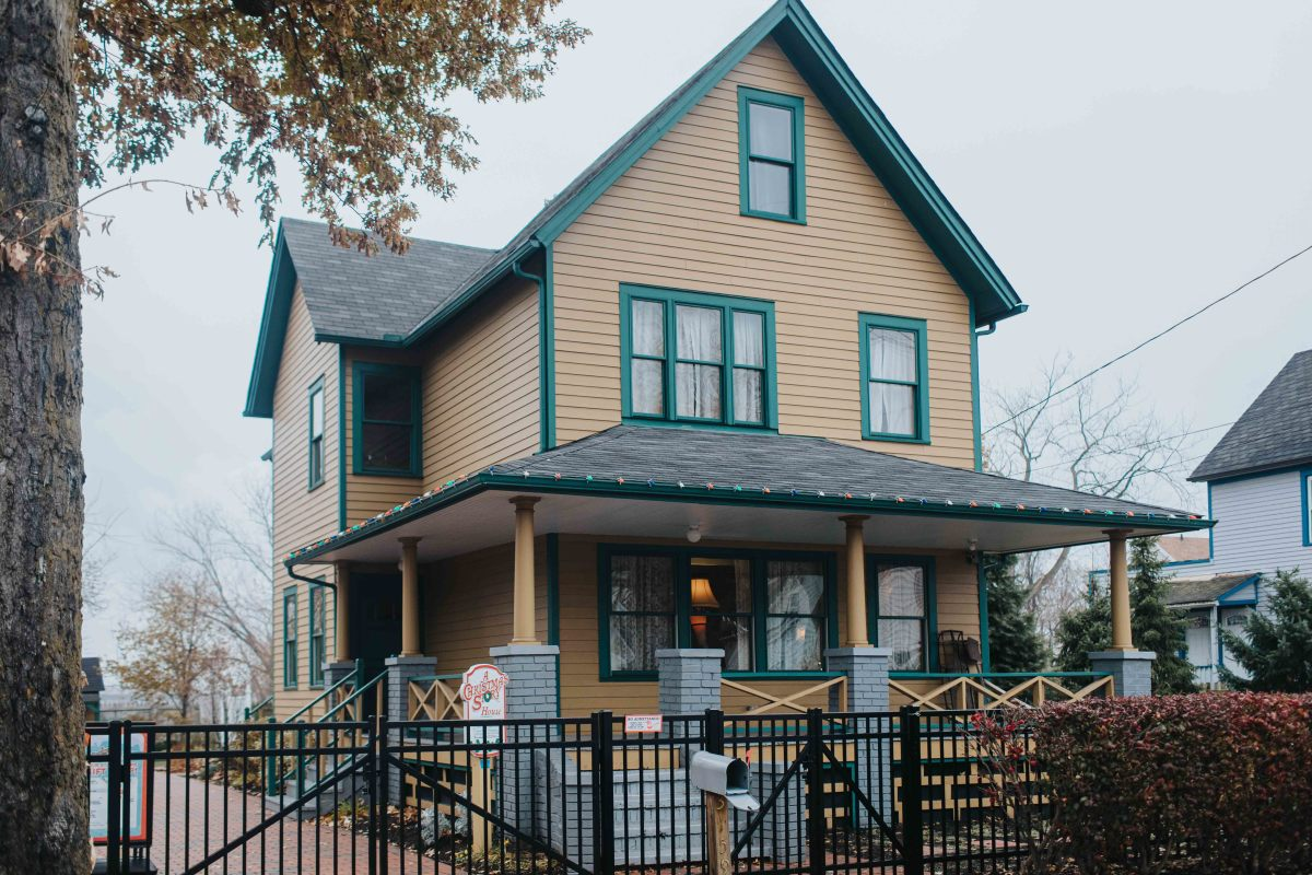 A Christmas Story House (made famous in the holiday classic A Christmas Story)