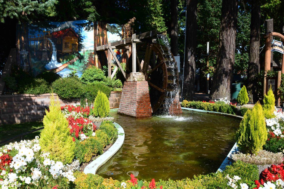 Waterwheel park inChemainus, BC
