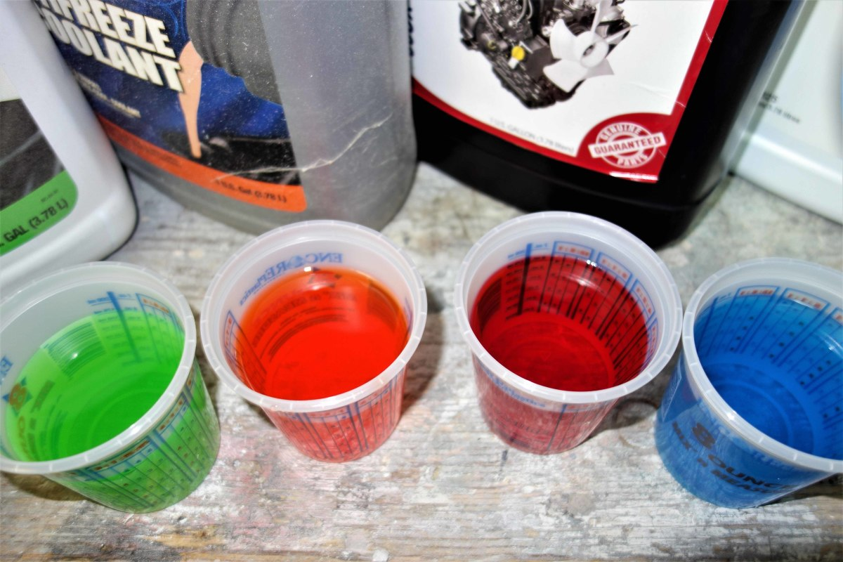 Coolant colors differentiate the brand and type. Each color utilizes different corrosion additives to specifically suit the engine's metallurgy.