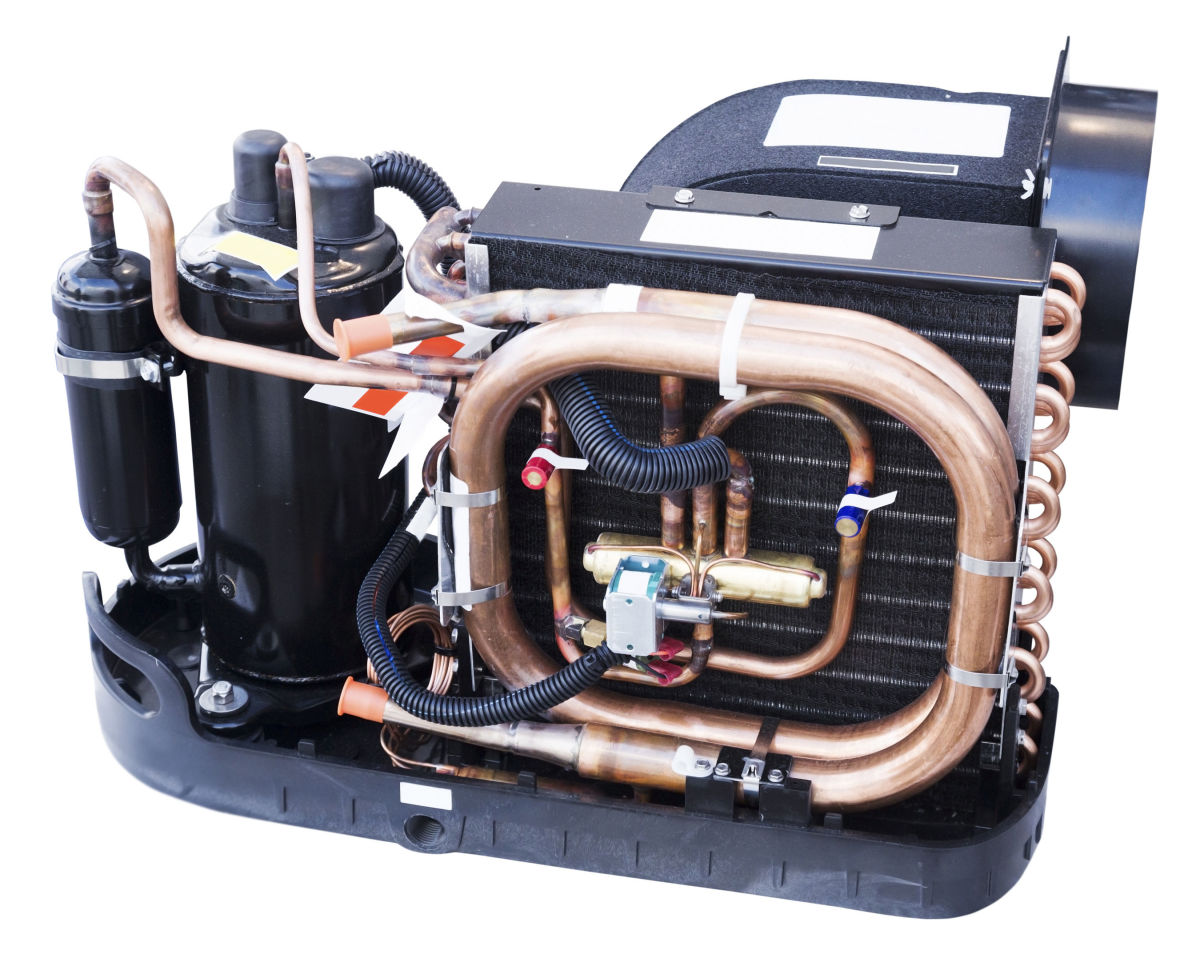 engine air conditioner cooling