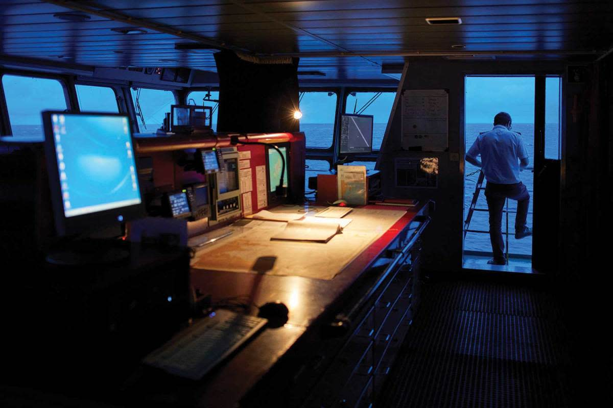The best commercial skippers know good decisions at sea are made after identifying potential risks in advance. Alamy