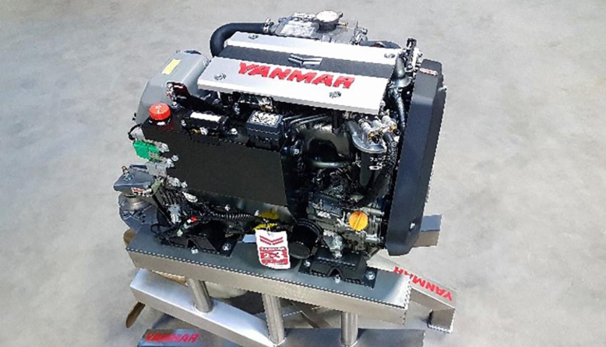Yanmar's 3JH40 is the world's smallest common-rail marine diesel inboard.
