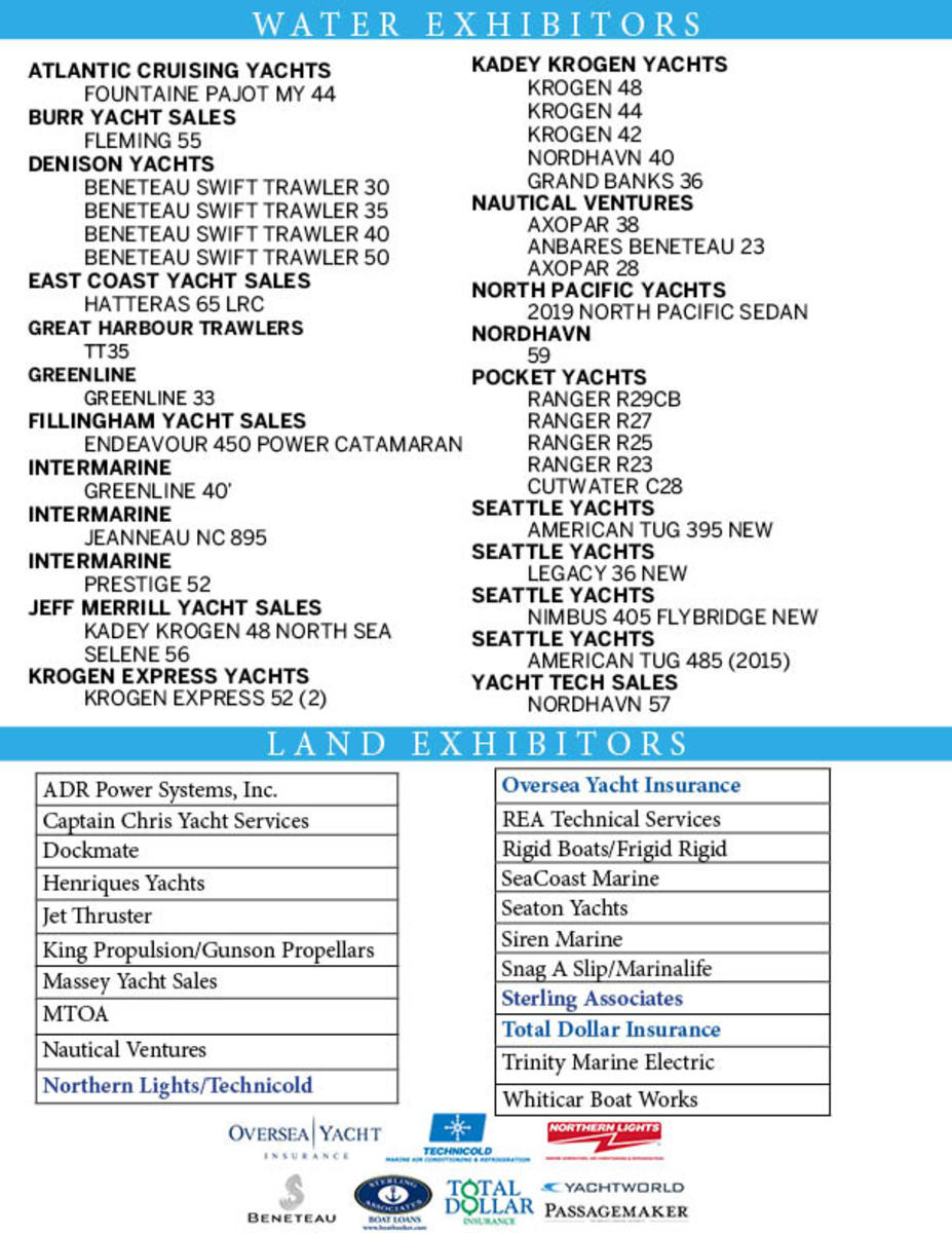 boat list one sheeter