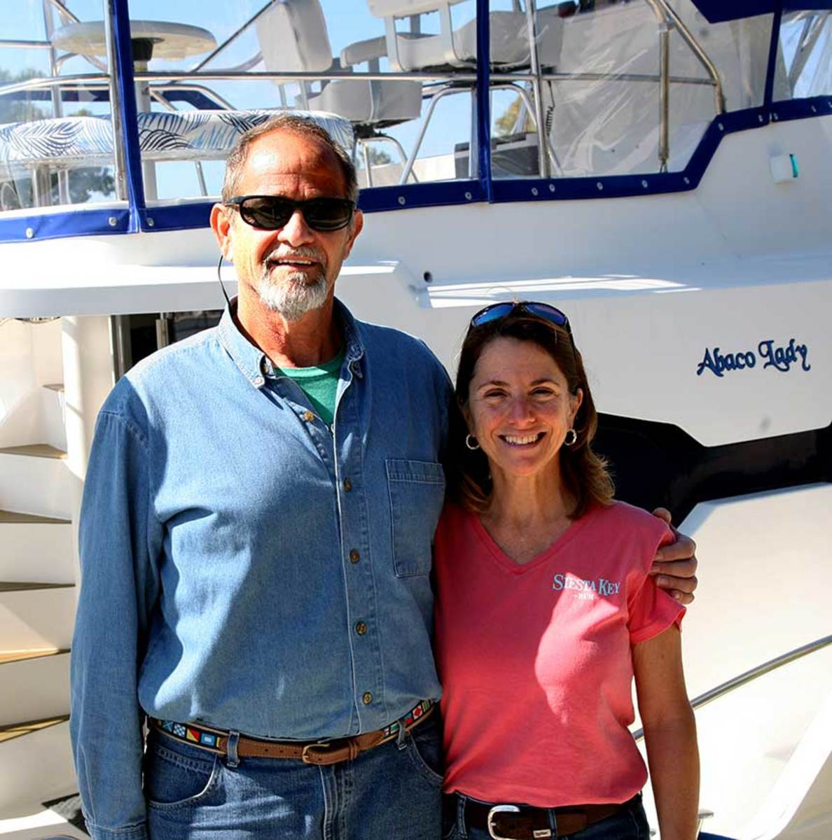 The Hartigs expect to depart Punta Gorda in March and return in time for Thanksgiving.