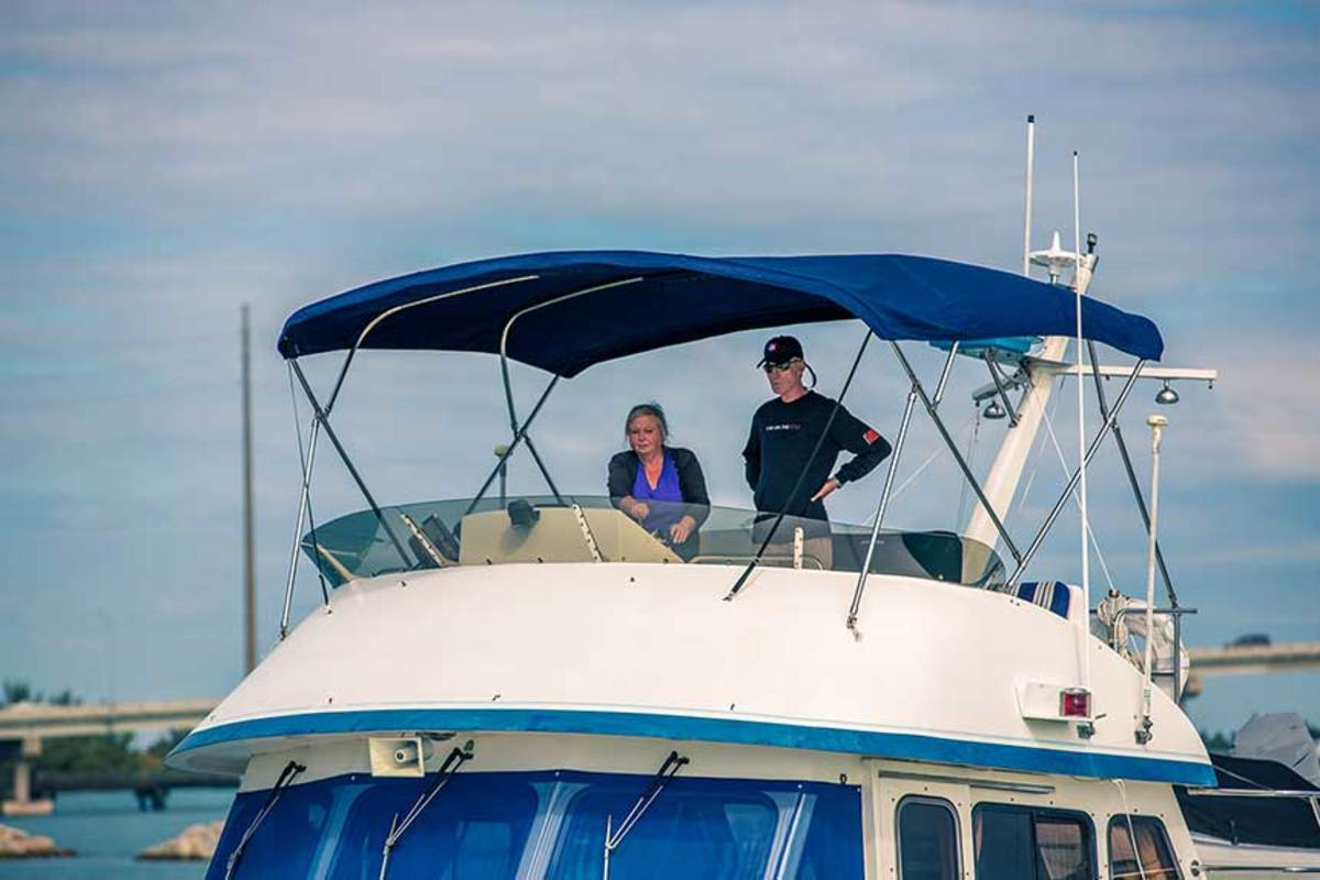 Helping and encouraging your partner to learn about the boat's operation will benefit everyone. You will then be able to extend your cruising as you expand the crew's knowledge and comfort.