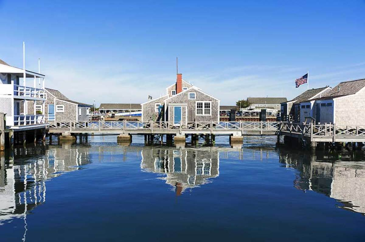 Immune to chain stores and neon lights, Nantucket's Historic District is a picture-perfect place to hop off the boat and take in the area's quaint ambience and rich maritime history.