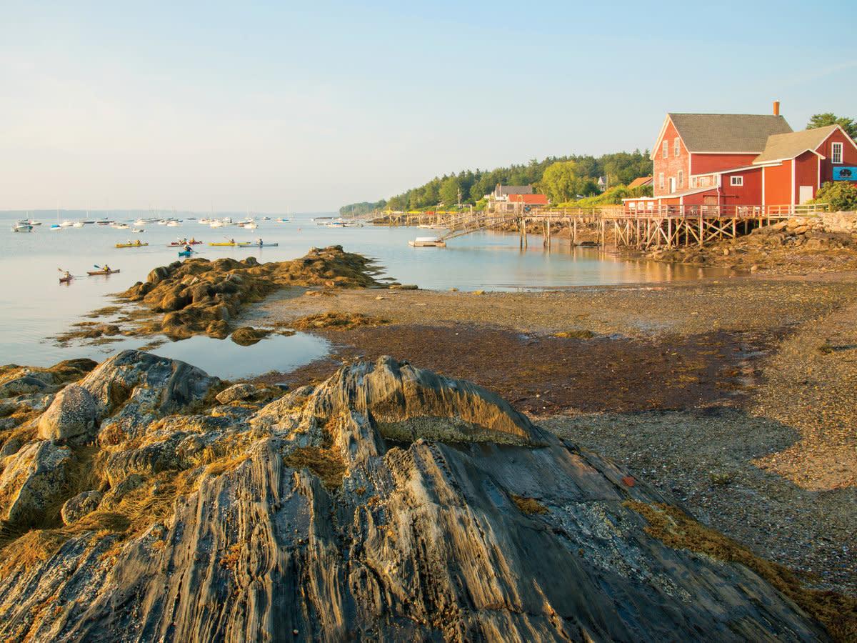 Harbor hopping on the Maine coast