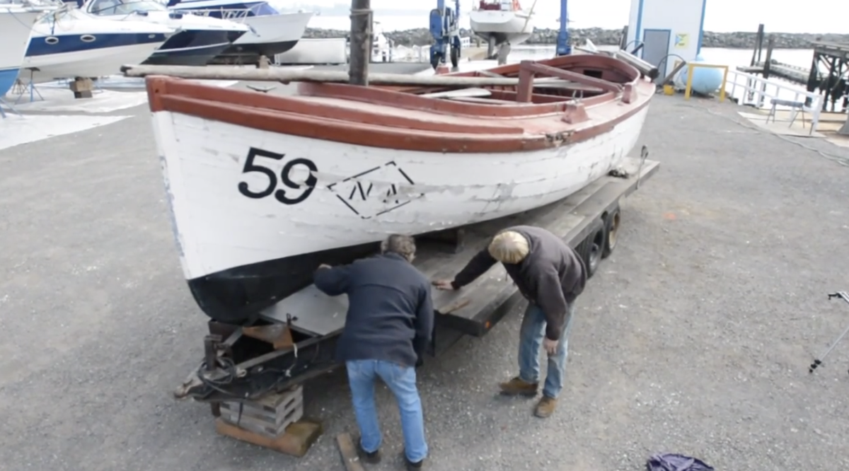 This 1906 vintage Bristol Bay sail-powered gill net boat is one of only five known survivors.
