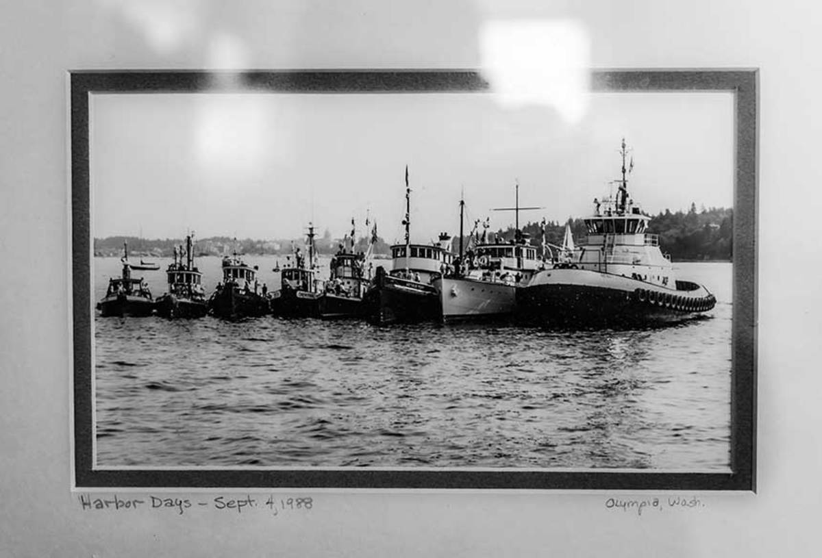 Harbor Days was a Puget Sound event where workboats  played with the public.