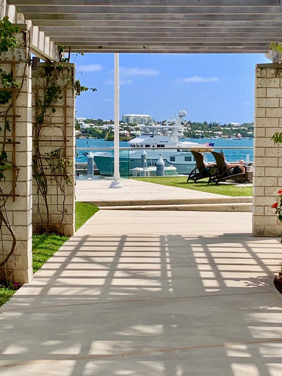 Gratitude gets a break at the Hamilton Princess Hotel in Bermuda. Not a bad place to recharge.