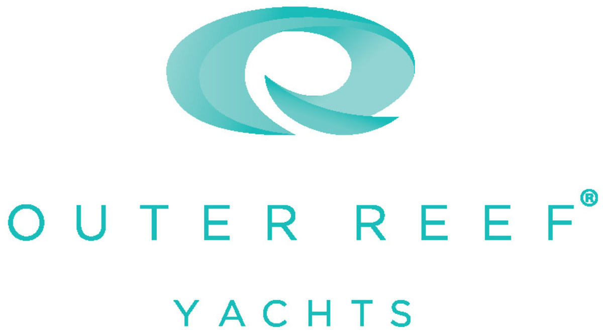 Outer Reef Yachts Logo OUTLINES TEAL
