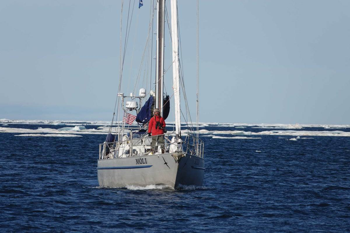 Californian Randall Reeves decided to attempt the Figure 8 Voyage because it had never been done before.