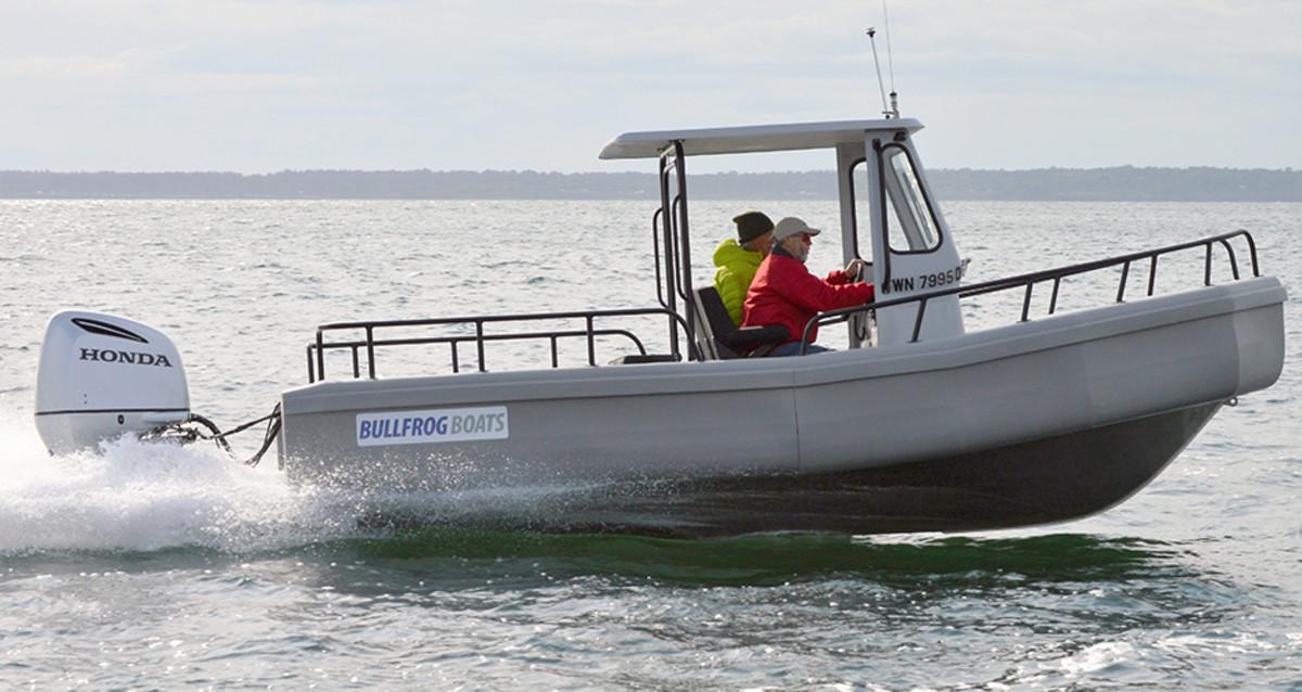 Bullfrog Boats 22' Offshore Ranger