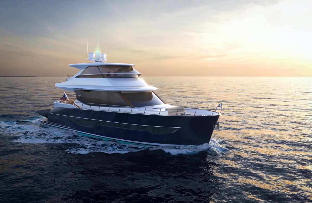 Burger 66 Motor Yacht