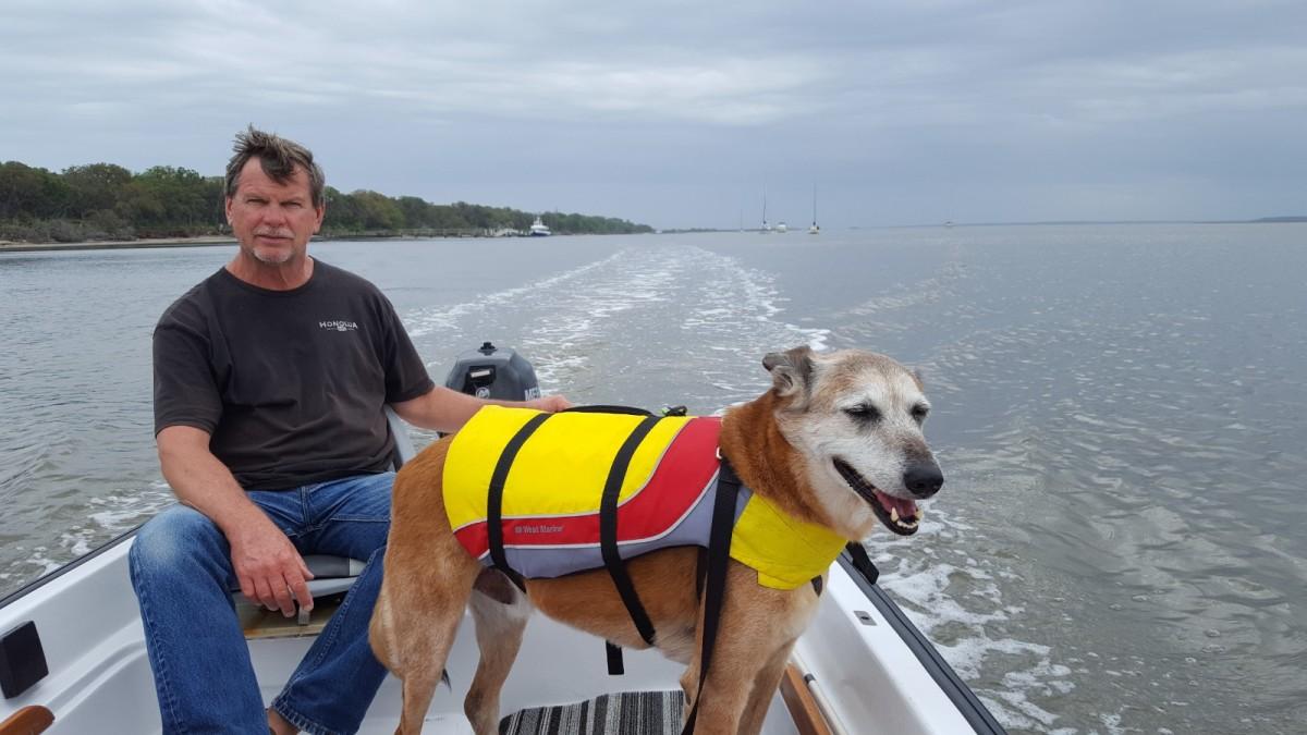 Cumberland island dinghy ride