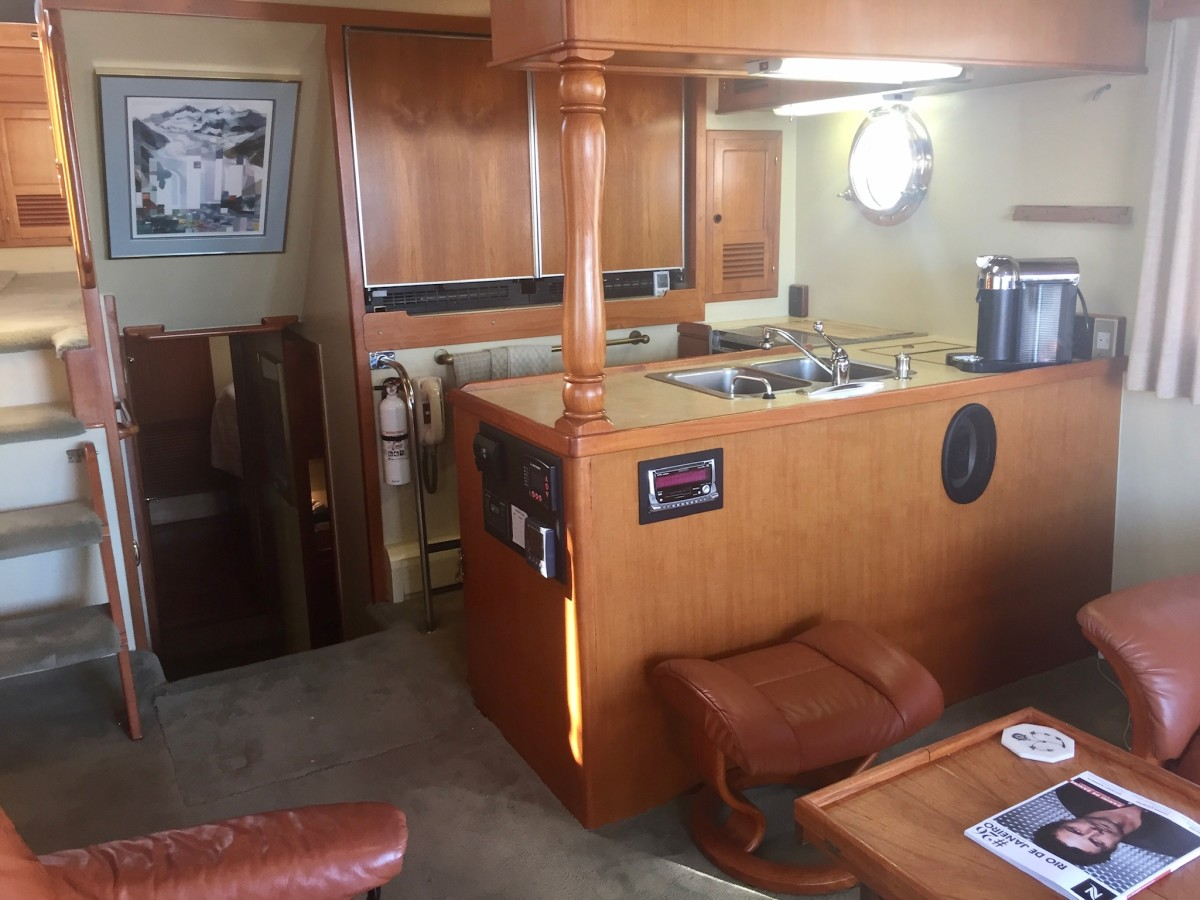 Galley before