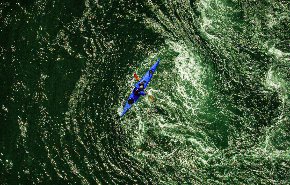 Some of the trickiest currents in the Pacific Northwest flow through Deception Pass, where riotous whirlpools have tossed kayakers and weakened the knees of experienced skippers.