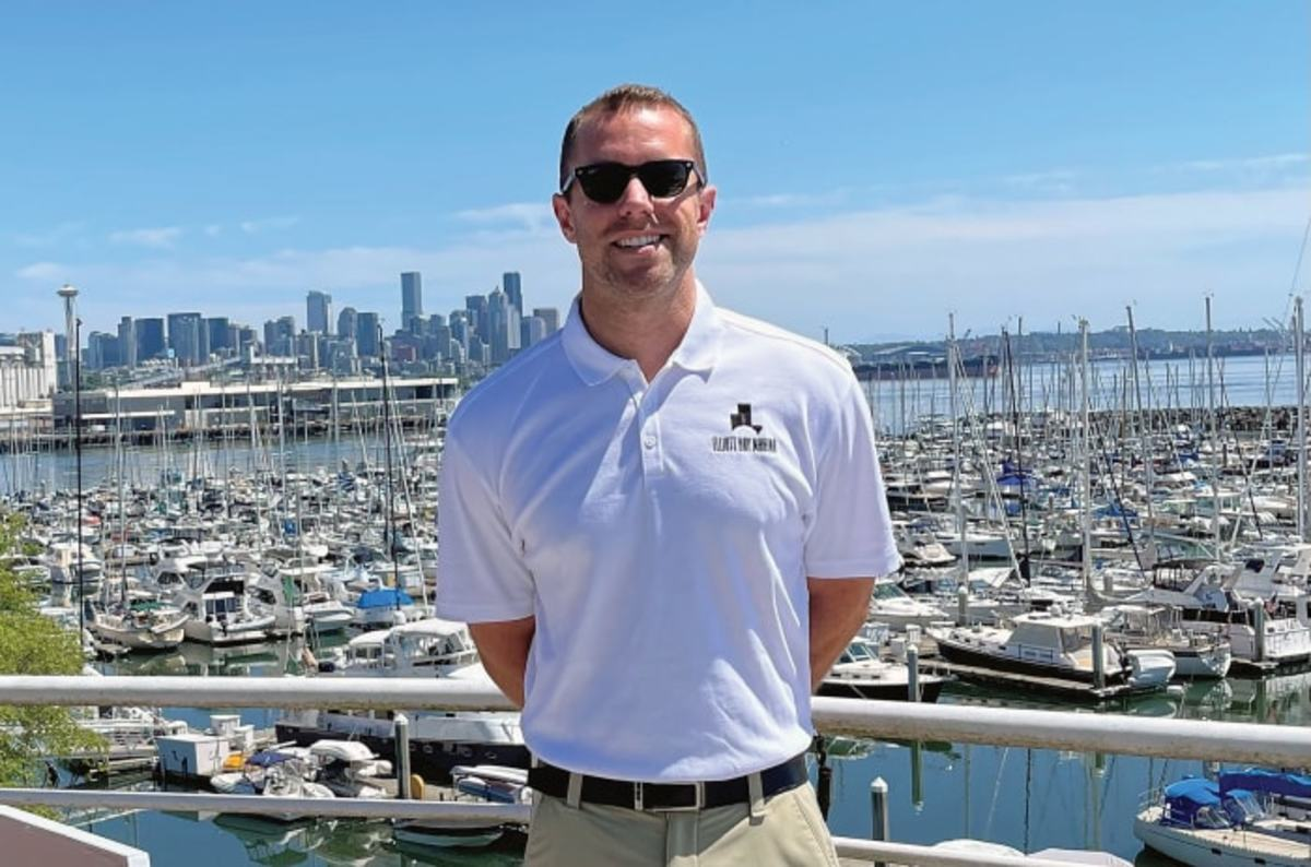 Harbormaster Jordan Glidden oversees the largest private marina on the West Coast.