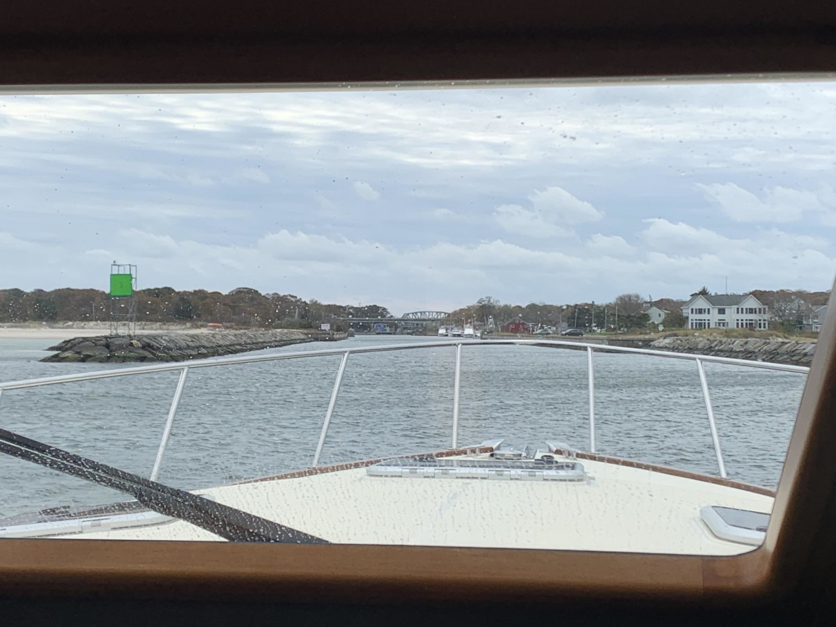 Safe return to port is always a rewarding view.
