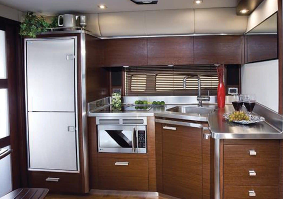 Companies like Indel-Webasto build residential-style refrigerators as well as smaller drawer-type units.